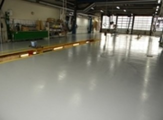 Flotte og slidstærke gulve i akryl, polyurethan eller epoxy fra Vestbjerg Epoxygulve