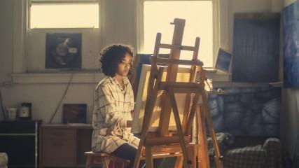 Stort udvalg af staffelier til både børn og voksne gør det nemt at komme i gang med at male