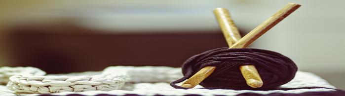 Garn og strik med bæredygtighed i forsædet